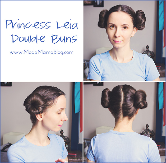 Hair Tutorial: Princess Leia Double Buns – Moda Mama