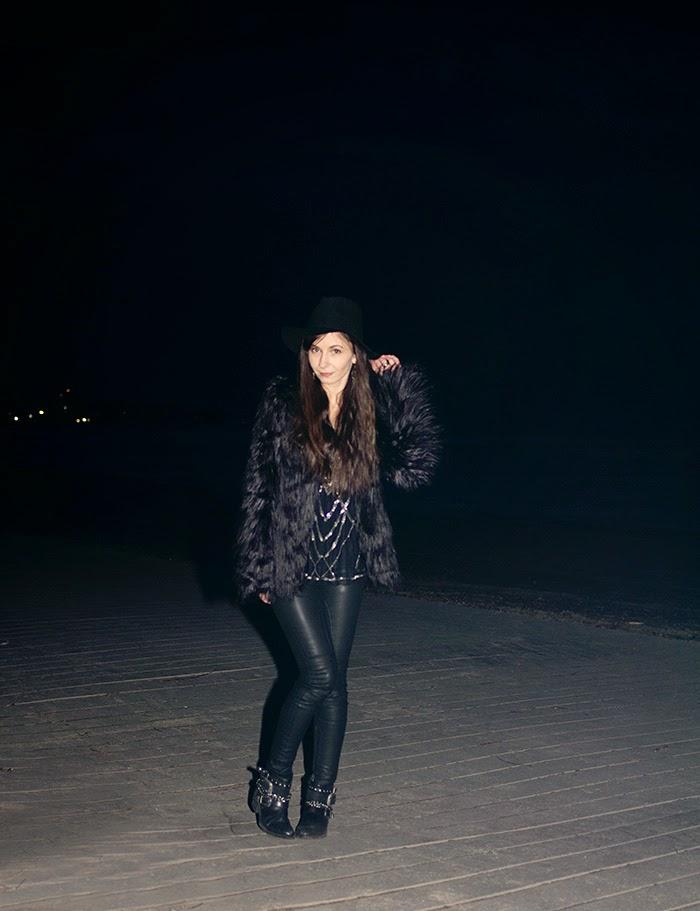 Faux-fur-jacket-fedora-sequin